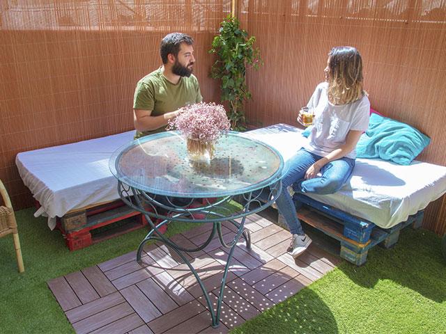 renovar terraza mimbre lop