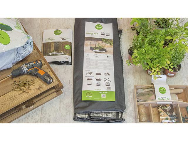 material montaje huerto urbano catral garden