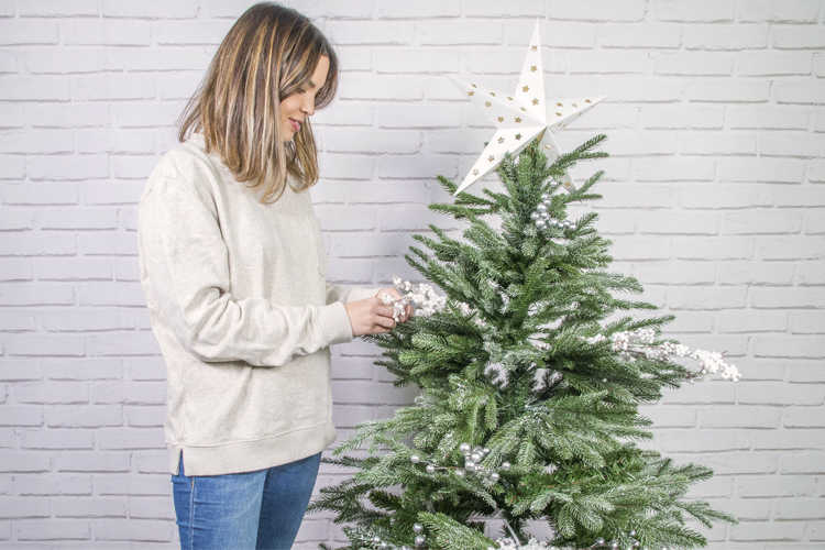 arbol navidad decorado sveg catral