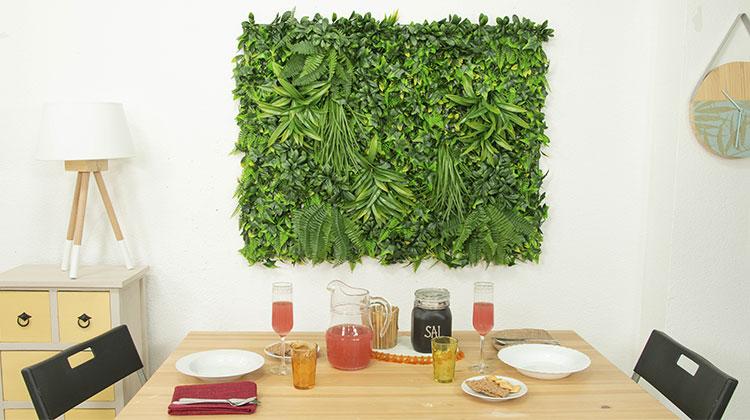 instalacion jardin vertical