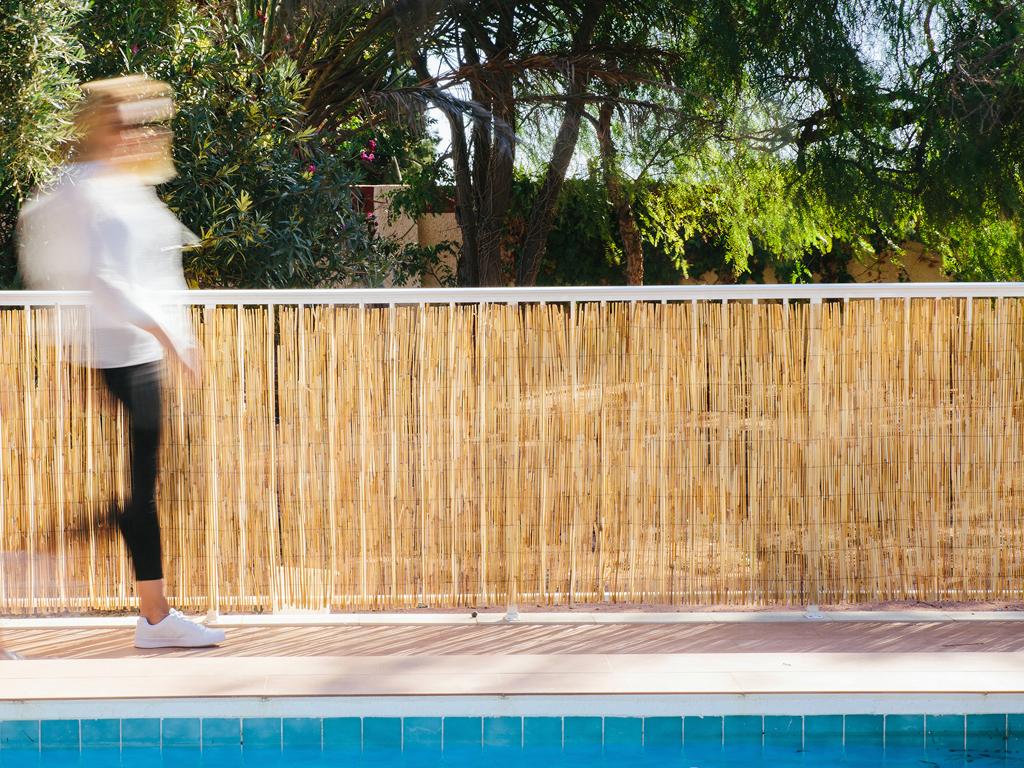 Cerramientos naturales - Jardin de bambu talavera ...