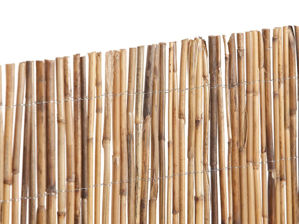 Bambú Entero Tejido
