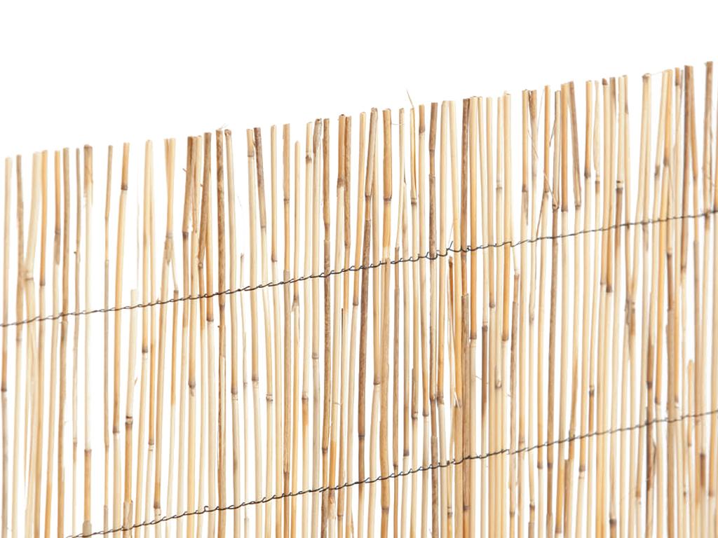 Bambú Pelado Tejido