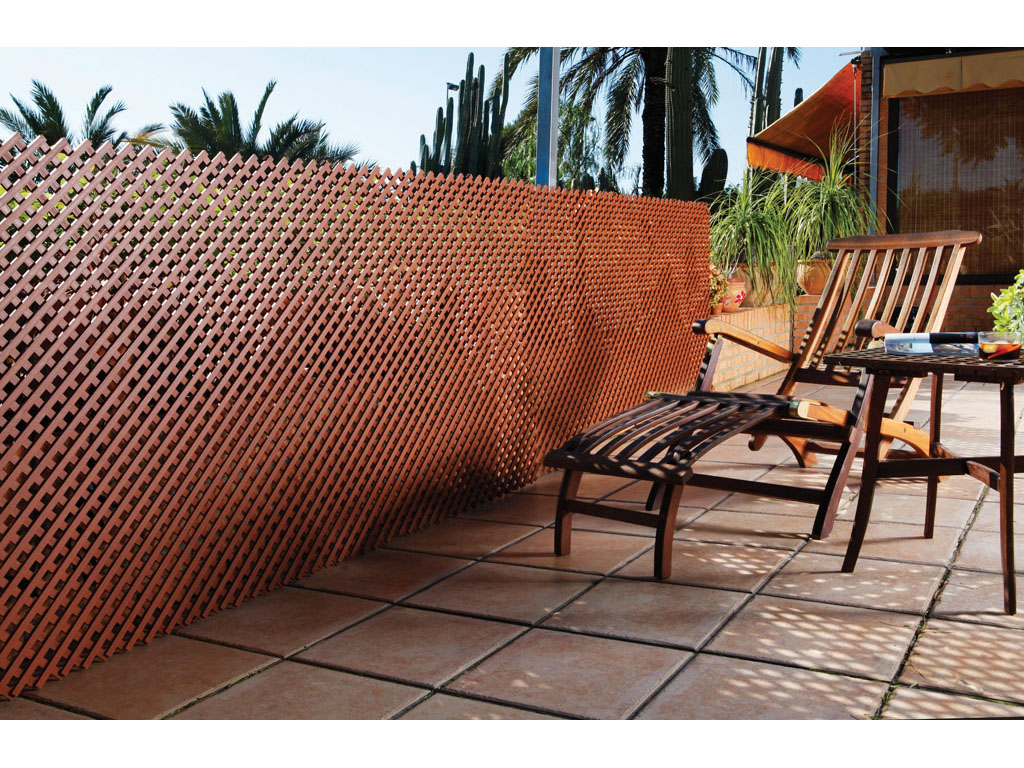 Celos a para jard n lop cerramientos ecol gicos for Celosias de jardin