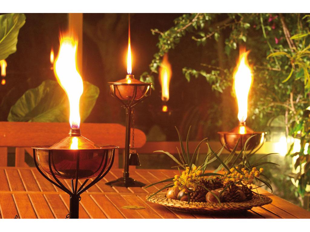 Antorchas decorativas para jard n for Antorchas jardin