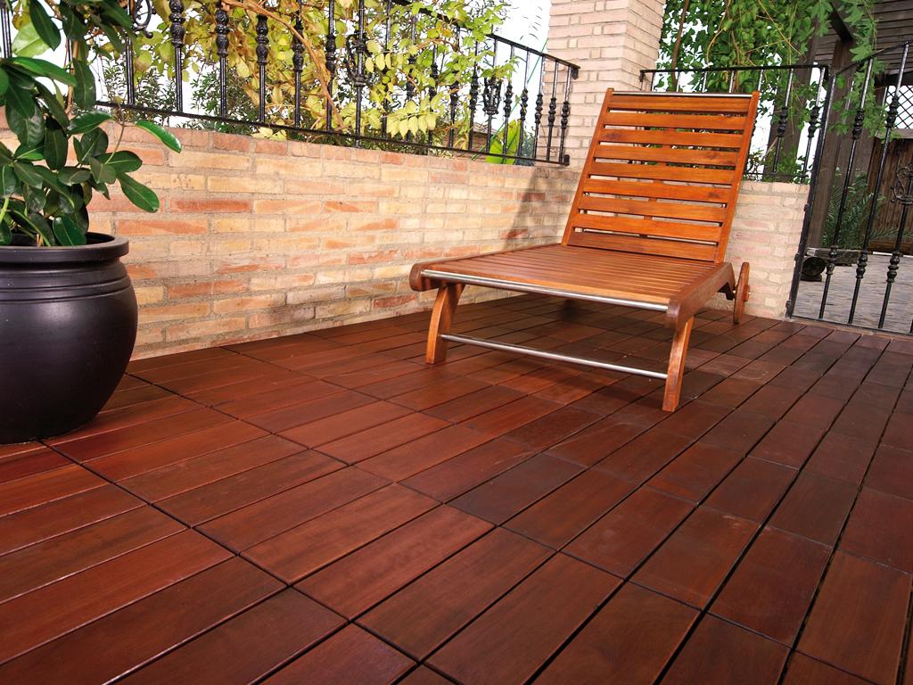 Suelo madera jardin lo mejor en madera para jardn con una - Suelos de madera para jardin ...