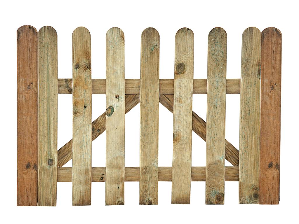 Classic fence door
