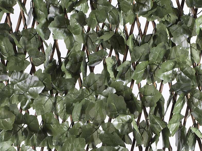 celosía extensible con hojas basic