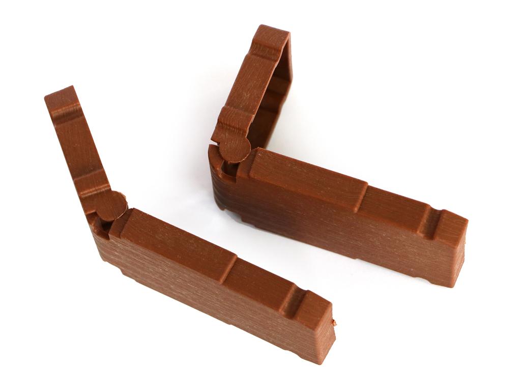CLICKBORDER- Pack 2 LOP® Hinges