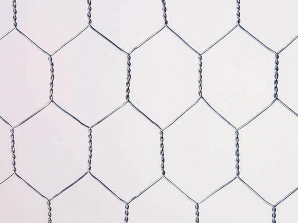 Malla Metálica Hexagonal