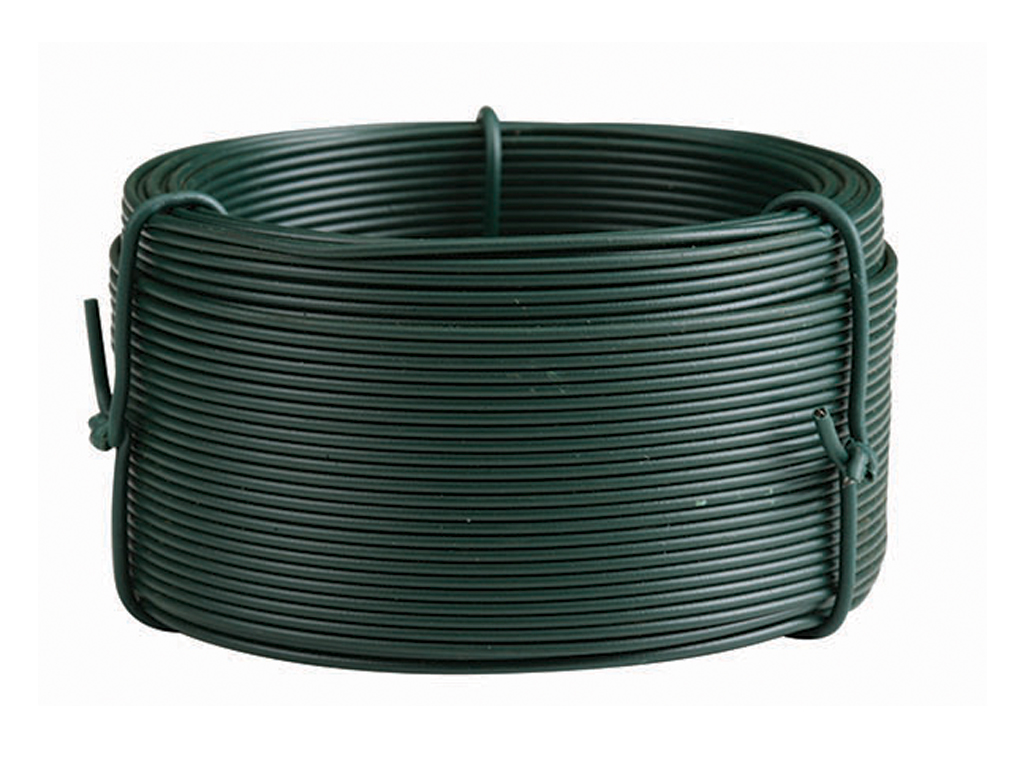 Plastic coated garden wire Roll