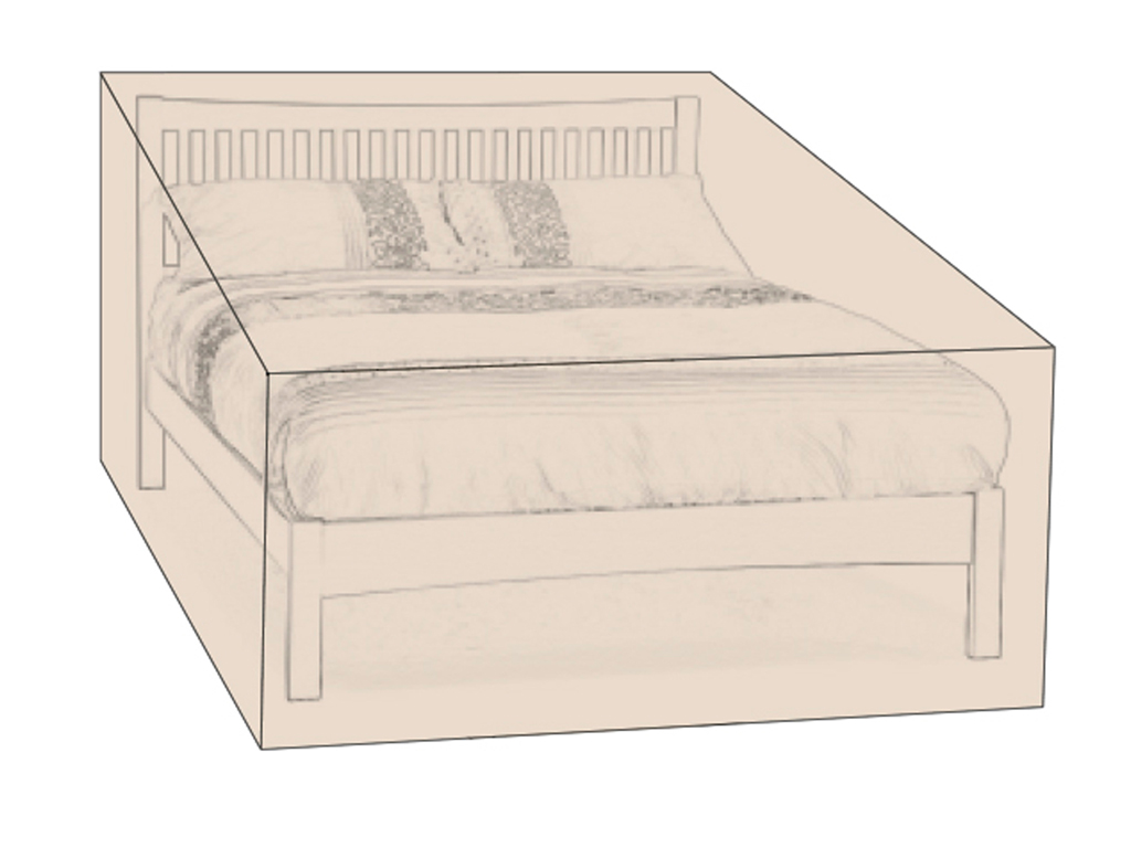 Furniture cover for double Beds
