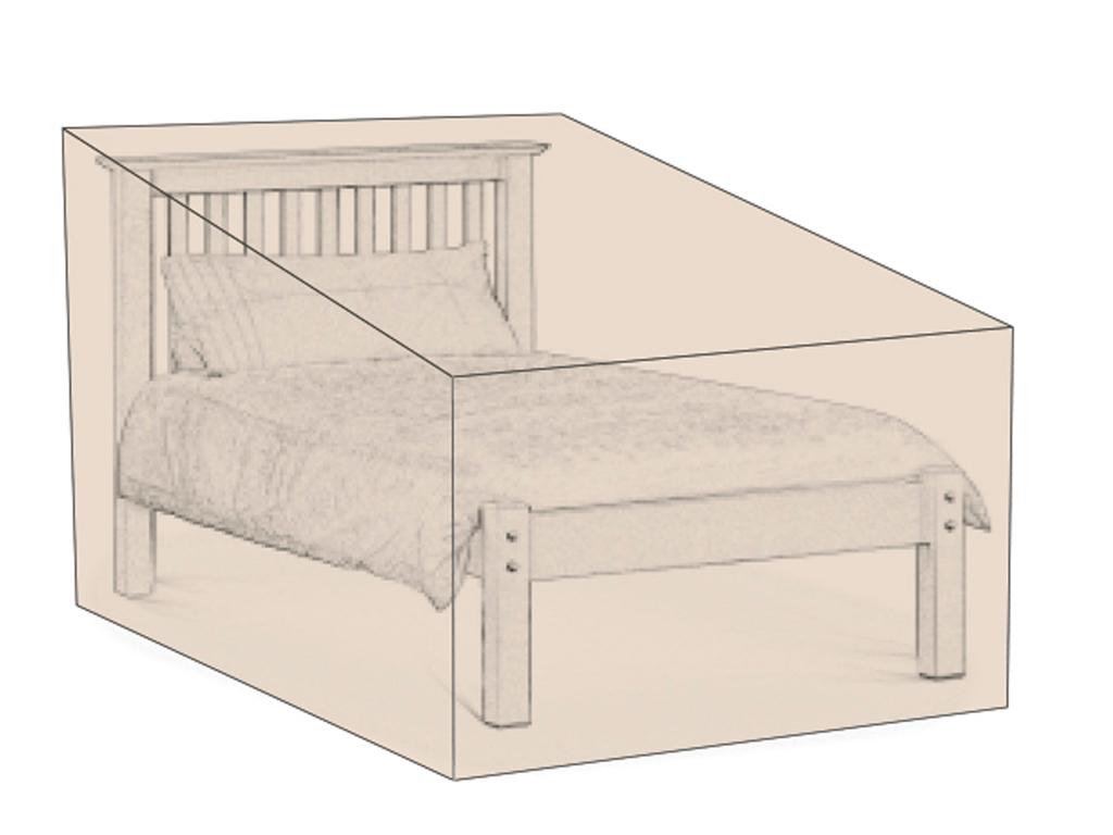 Funda Protege Muebles Cama Individual