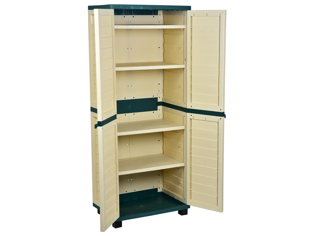 High resistance cabinet, 4 shelves
