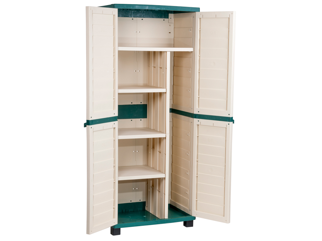 High resistance cabinet with dividers