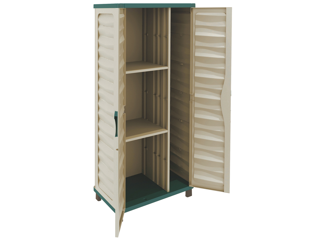 Cabinet with dividers