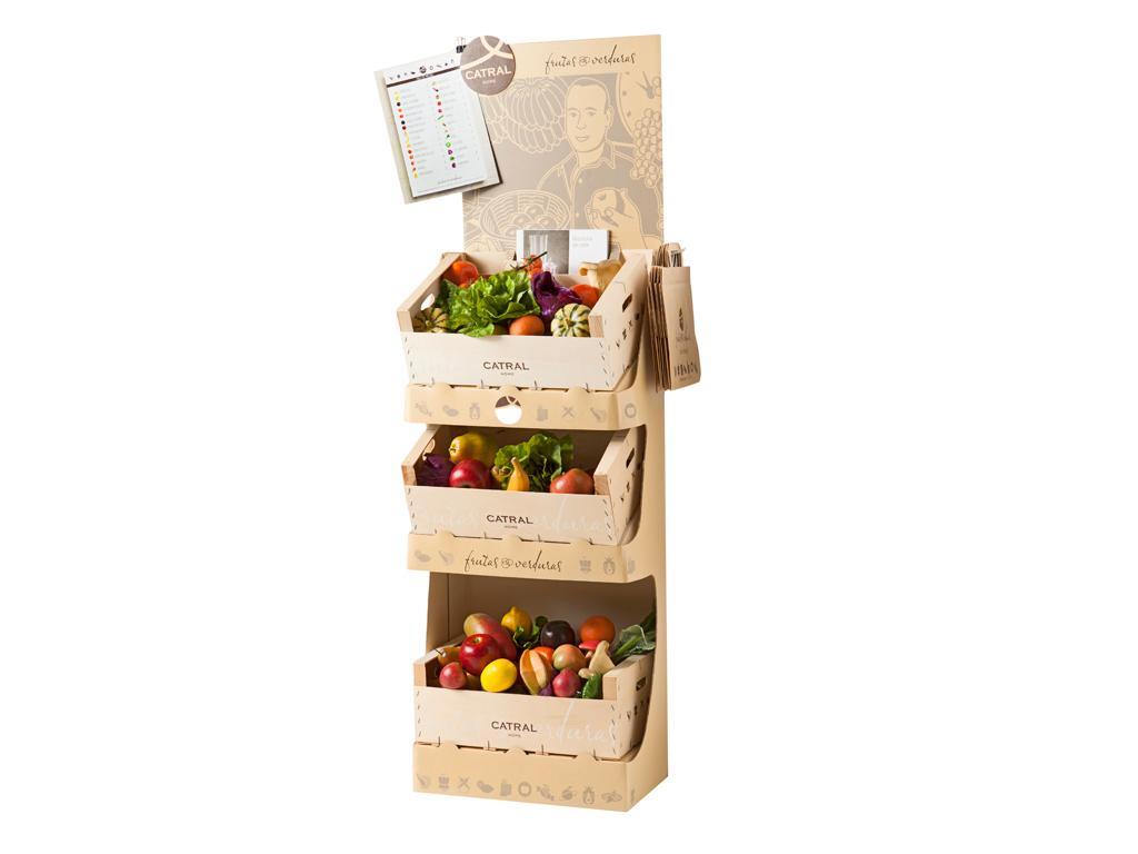 Expositor  Frutas Y Verduras