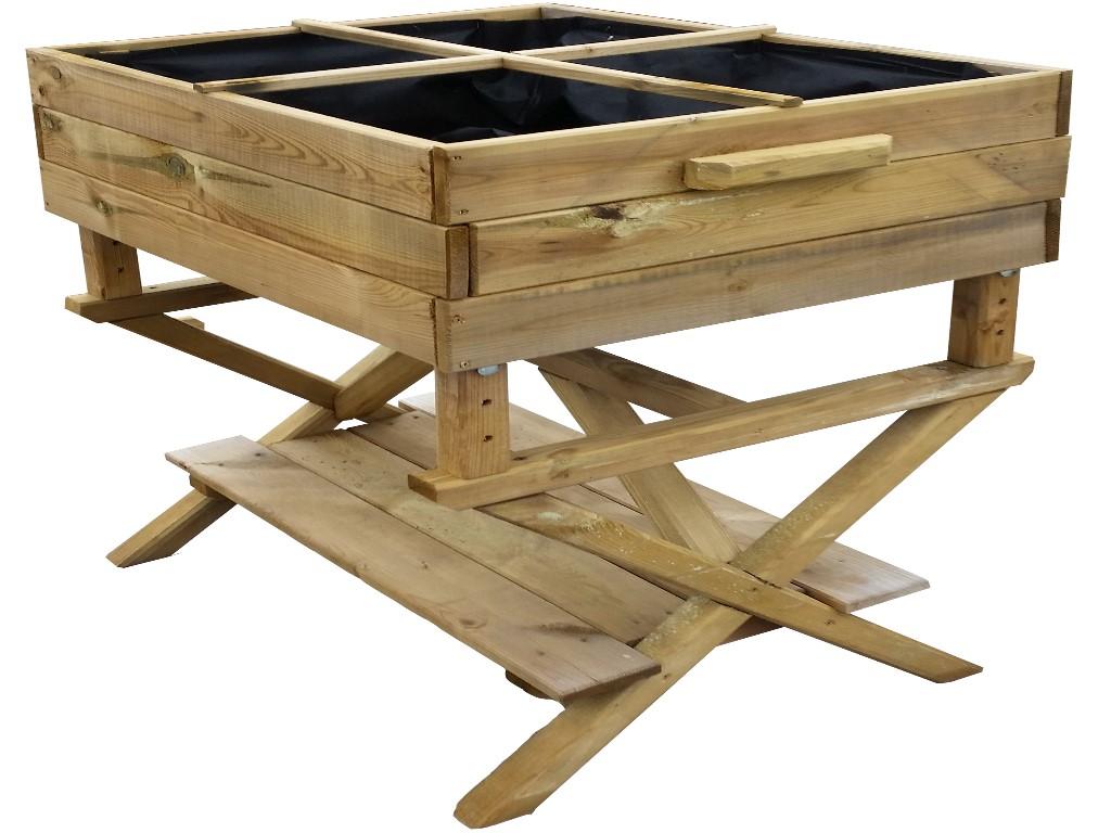 SEEDBOX Huerto con altura regulable