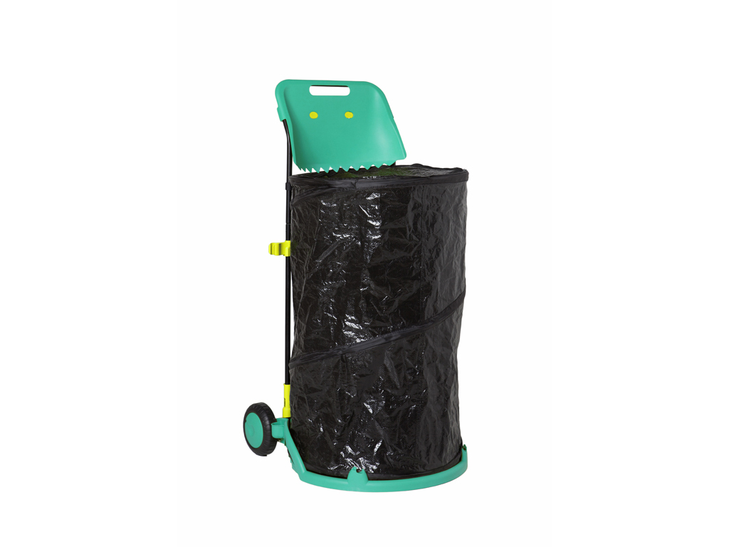 Carro Contenedor Plegable Green Helper