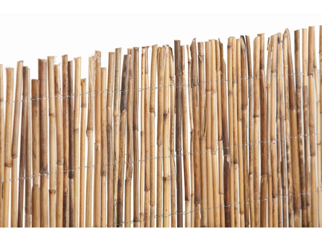 Cerramientos de bamb para jard n - Jardin de bambu talavera ...