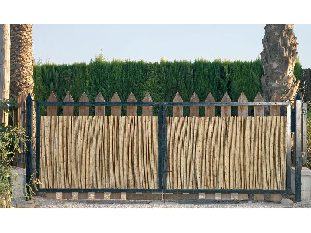 Cerramientos de ca izo para jard n catral for Cerramientos para jardines