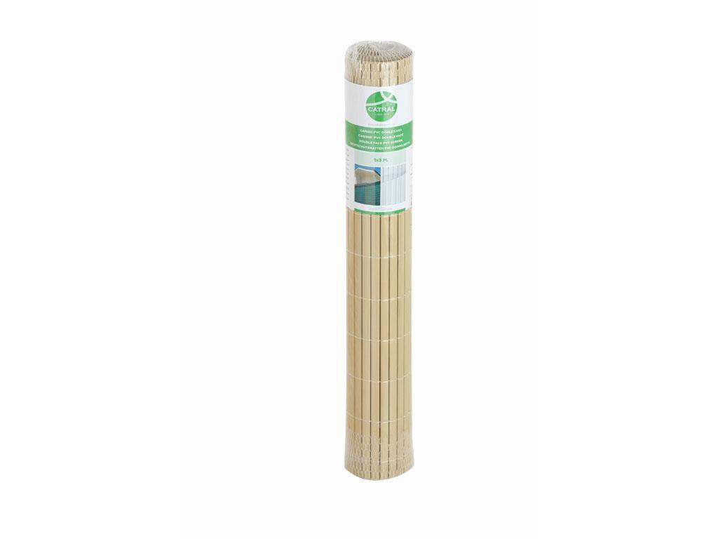 Ca izo de pvc para jard n y piscina for Tejados de madera y canizo