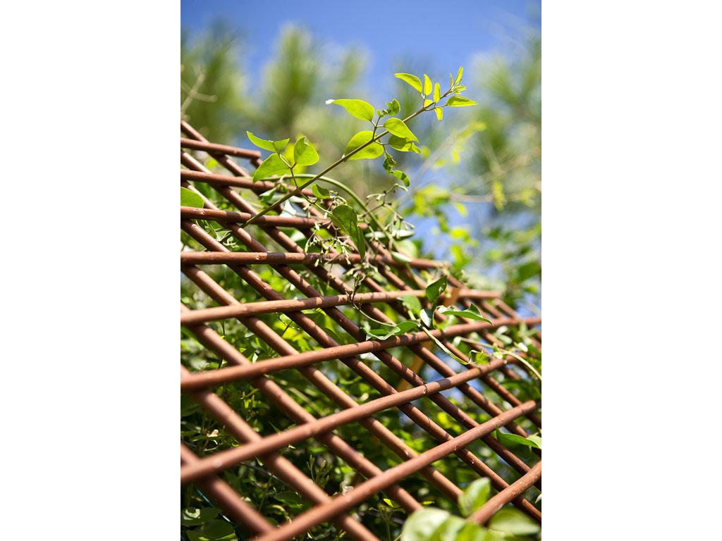Celos as de mimbre para jard n y exteriores catral - Celosias para jardin ...