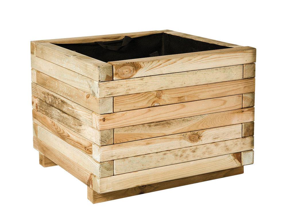 Jardineras de madera para jard n for Jardineras de madera grandes