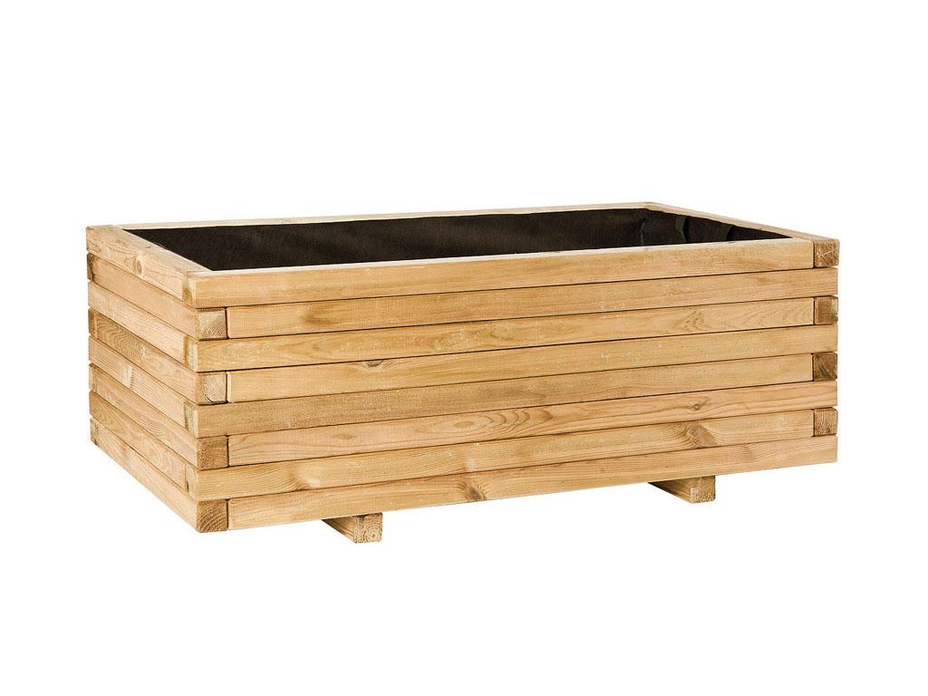 Jardineras de madera para jard n - Piedras para jardineras ...