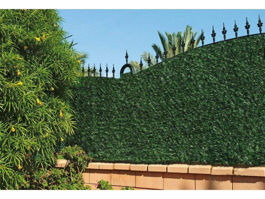 Seto para jard n con hojas artificiales - Vallas de plastico para jardin ...