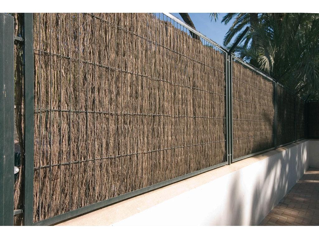 Cerramientos de brezo para jard n catral for Cerramientos de jardin