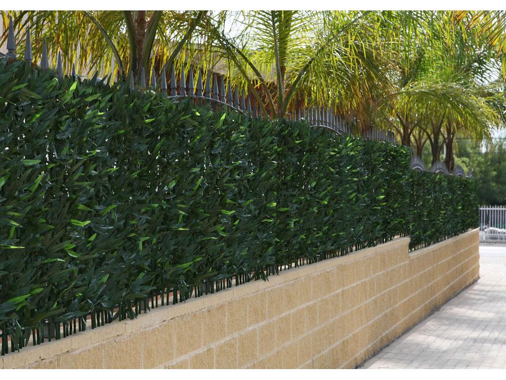 Seto para jard n de bamb catral - Jardineras con bambu ...