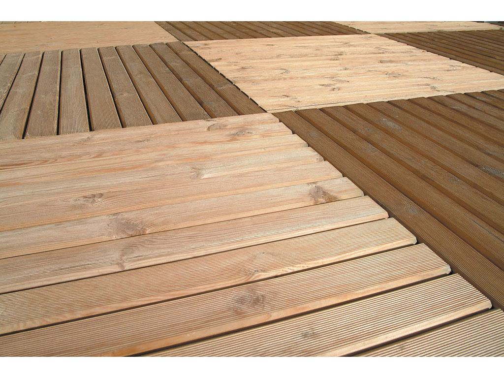 Suelos de madera para exterior - Suelo de madera para terraza ...